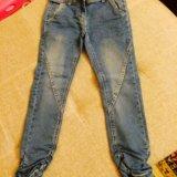 Джинсовые брюки для девочек. Фото 4. Красногорск.