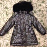 Зимнее пальто-пуховик до 92см. Фото 1.