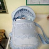 Люлька -переноска для новорождённого. Фото 2.