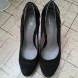 Туфли новые,натуральная замша. Фото 3.