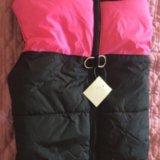 Новая зимняя куртка-жилетка для собак. Фото 1.