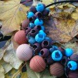 🍁колье-бусы из полимерной глины. Фото 3. Москва.