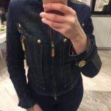 Куртка джинсовая утепленная gizia. Фото 3.