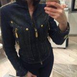 Куртка джинсовая утепленная gizia. Фото 4.