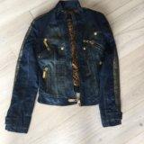 Куртка джинсовая утепленная gizia. Фото 1.