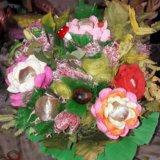 Оригинальные букеты из конфет. Фото 3. Белгород.