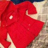 Куртка красная. тёплая.. Фото 2.