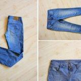 Голубые джинсы. Фото 1.