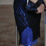 Платье ручная вязка. Фото 2. Курган.