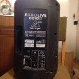Акустическая система behringer eurolive b210d. Фото 1.