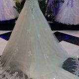 Шикарное свадебное платье!новое!!!. Фото 1. Чехов.