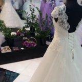 Шикарное свадебное платье!новое!!!. Фото 4. Чехов.