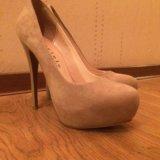 Замшевые туфли. Фото 2.