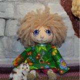 Домовенок кукла ручной работы. Фото 1.