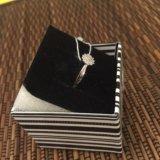 Кольцо серебряное с цирконом. Фото 2. Химки.