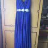 Платье 44р длинное в пол. Фото 1. Владимир.