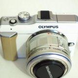 Беззеркальная камера olympus pen e-pl1. Фото 1. Екатеринбург.