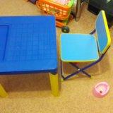 Столик и стульчик. Фото 1.