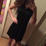 Платье чёрное. Фото 1.