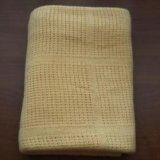 Одеяло (покрывало) вязанное 100% хлопок. Фото 3.