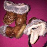 Тёплые ботиночки. Фото 3.