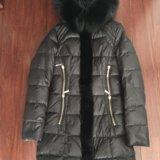 Зимнее пальто пуховик ayaka в состоянии нового. Фото 1.