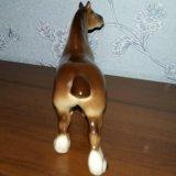 Статуэтка лошадь тяжеловоз лфз. Фото 2. Санкт-Петербург.