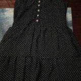 Платье в горошек. Фото 1.
