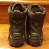 Ботинки ecco нубук осенние с байкой. Фото 3.