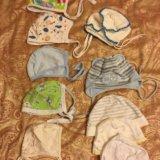 Вещи на новорожденного шапочка шапка 0 - 3 месяца. Фото 1.