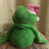 Игрушка мягкая, говорящий лягушонок. Фото 3.