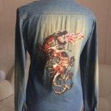 Котоновая рубашка ashes. Фото 2.