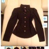 Чёрная новая рубашка с рукавом. Фото 1. Краснодар.