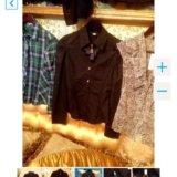Чёрная новая рубашка с рукавом. Фото 3. Краснодар.