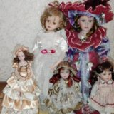 Куклы коллекционные фарфоровые. Фото 1.