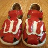 Детские сандалики топ-топ. Фото 1.