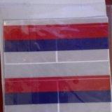 Светоотражающие наклейки флаг россии. Фото 1.