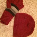 Шапка и перчатки( новые ). Фото 1. Балашиха.