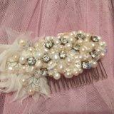 Заколка для волос невесты 👰🏼.. Фото 1.
