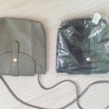 Новая серая сумочка (17*19). Фото 1.