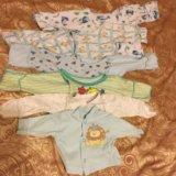 Вещи на новорожденного 0-3 месяца распашонка штаны. Фото 1. Москва.
