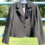 Костюм для девочки (пиджак + юбка), размер 32. Фото 1. Москва.
