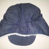 Теплая кепка-шапка h&m (74/80). Фото 4.