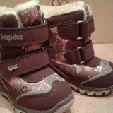 """Зимние ботинки """"капика"""" (сиреневый). Фото 2."""