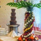 Шоколадный фонтан. Фото 1.
