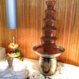 Шоколадный фонтан. Фото 3.