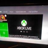 Xbox 360 +kinect+80  игр. Фото 3.