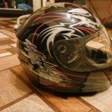 Шлем мотоциклетный. Фото 3.