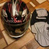 Шлем мотоциклетный. Фото 4.