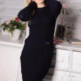 Красивое очень теплое платье. новое. Фото 1.
